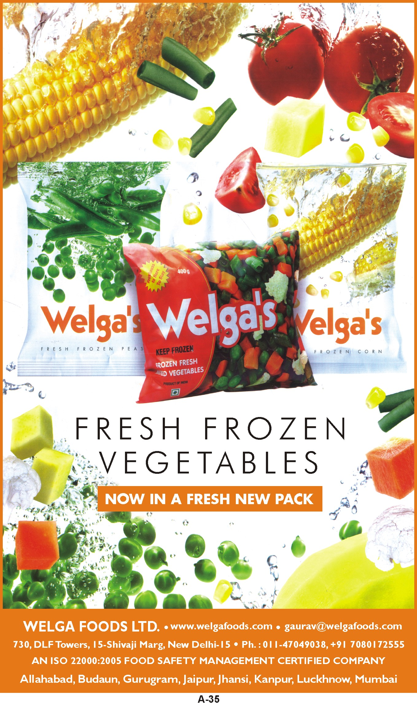 WELGA FOODS LTD.