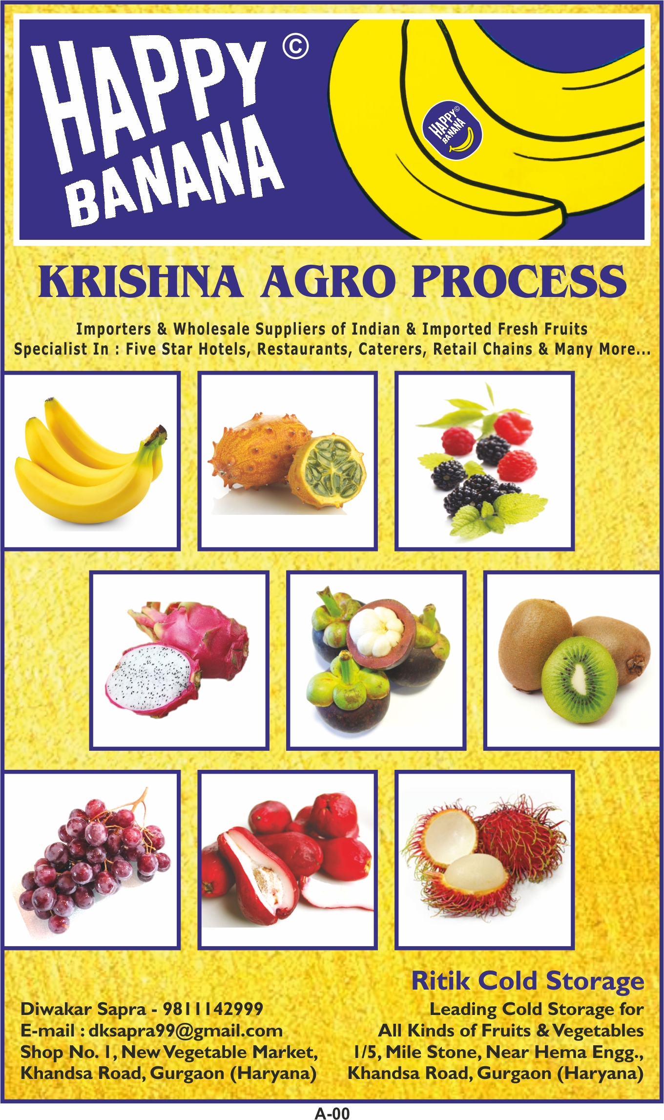 KRISHNA AGRO PROCESS | Fresh Fruits & Vegetables Suppliers